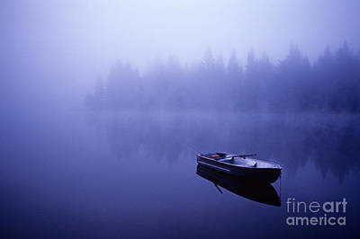 Photograph - Row Boat On Lake Mason by Jim Corwin