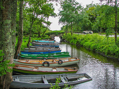 Row Boats Original by Gestalt Imagery