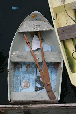 Row Boat Digital Art - Row Boats by Lester Schwabe