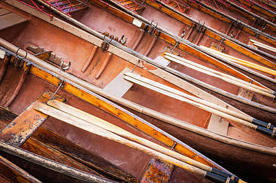 Row Boats Art Print