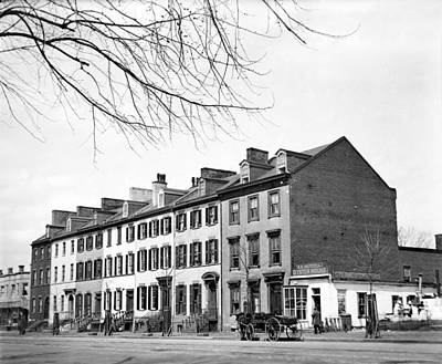 Photograph - Row Houses, C1919 by Granger