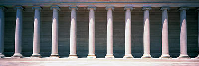 Row Of Columns San Francisco Ca Art Print