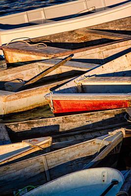Row Row Row Your Boat Art Print by Jeff Sinon