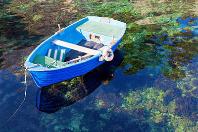 Photograph - Rowboat by Alexey Stiop