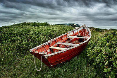 Rowboat At Prospect Point - 2 Art Print by Nikolyn McDonald