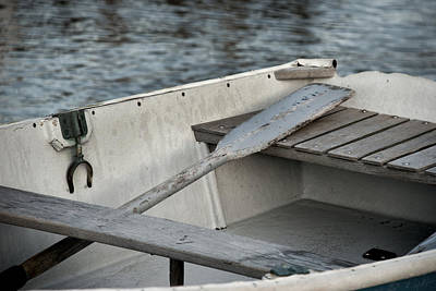 Photograph - Rowboat by Charles Harden
