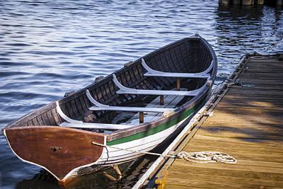 Angels And Cherubs - Rowboat on Potomac by Debbie Karnes