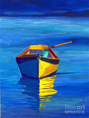 Painting - Rowboat by Sandy Linden
