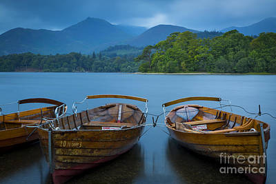 Photograph - Rowboats At Derwentwater by Brian Jannsen