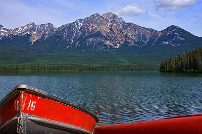 Photograph - Rowboats At Pyramid Lake by Stuart Litoff