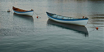 Photograph - Rowboats by Michael Porchik
