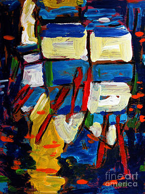 Rowboats Under A Tuscan Sun Archived Original by Charlie Spear