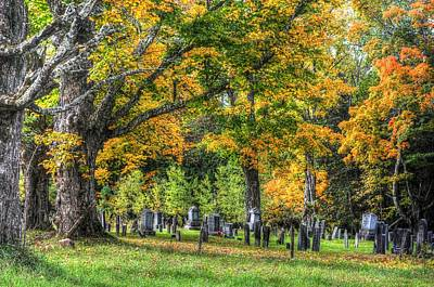 Photograph - Rowell Cemetery by John Nielsen