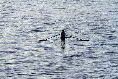 Photograph - Rowing by Juergen Roth