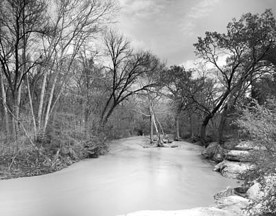 Rowlett Creek Art Print