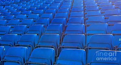 Photograph - Rows by David Warrington
