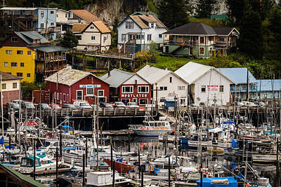 Rows Of Houses And Sails Art Print by Melinda Ledsome