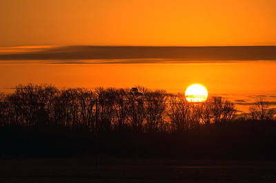 Photograph - Roxanna Sunrise by Bill Swartwout