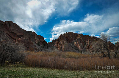 Roxborough Cragginess Art Print