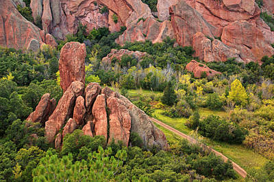 Photograph - Roxborough Park In The Fall #4 by Daniel Woodrum