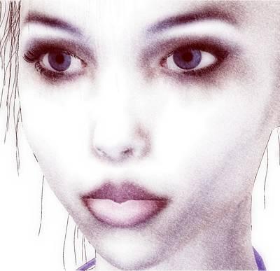 Roxie Close Art Print