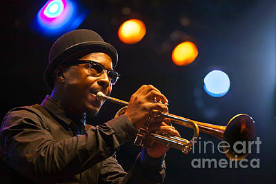 Roy Hargrove With Hat Art Print