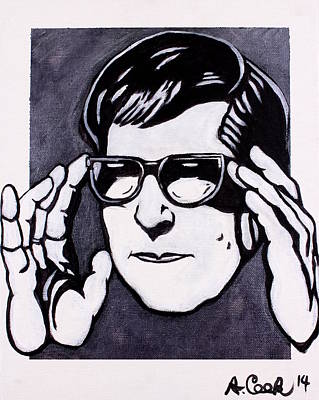 Wall Art - Painting - Roy Orbison by Adam B Cook
