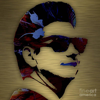 Roy Orbison Collection. Print by Marvin Blaine