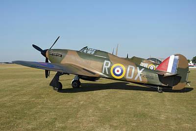 Photograph - Royal Air Force Hawker Hurricane by Riccardo Niccoli