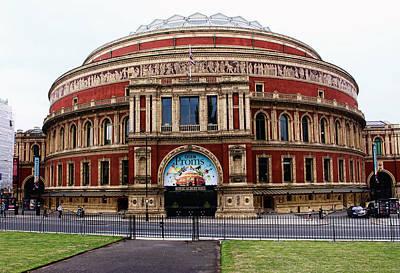 Royal Albert Hall London Art Print by Nicky Jameson