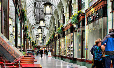 Royal Arcade Art Print by Pedro Fernandez