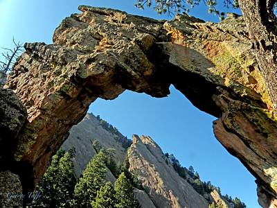 Photograph - Royal Arch Boulder Colorado by George Tuffy