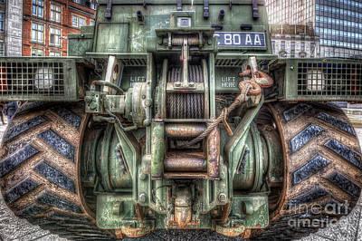 Royal Army Bulldozer Print by Yhun Suarez