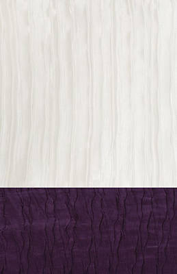 Dupioni Tapestry - Textile - Royal Aubergine - Royal Purple by Margaret Ivory