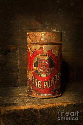 Photograph - Royal Baking Powder Can - Antiques by John Stephens