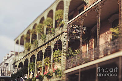 Photograph - Royal Balconies by Heather Green