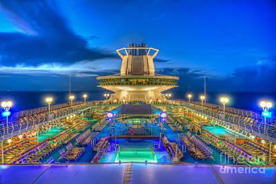 Royal Carribean Cruise Ship  Art Print