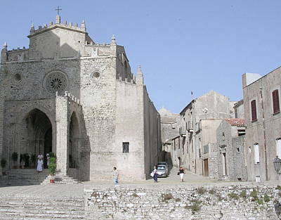 Photograph - Royal Cathedral Erice by Caroline Stella