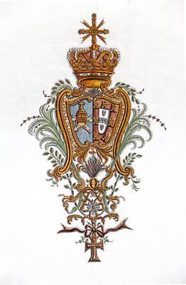 Architecture Photograph - Royal Coat Of Arms by Jose Elias - Sofia Pereira