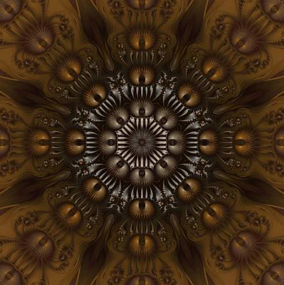 Digital Art - Royal Cocoa by Fran Riley