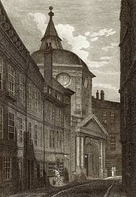 Royal College Of Physicians Print by National Library Of Medicine