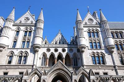 Photograph - Royal Courts Of Justice London by Steven Richman