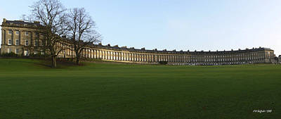 Photograph - Royal Crescent by Allen Sheffield