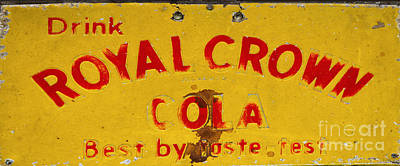 Photograph - Royal Crown Cola by Paul Mashburn