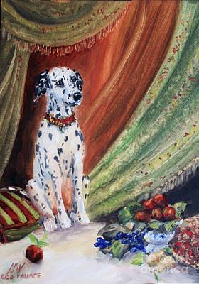 Painting - Royal Dalmatian by Stella Violano