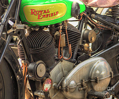 Photograph - Royal Enfield by Jeremy Hayden