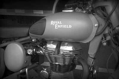 Photograph - Royal Enfield by Kelly Hazel