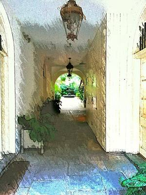 Photograph - Royal Entrance by John  Duplantis