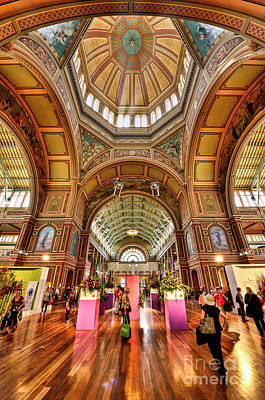 Royal Exhibition Building II Art Print