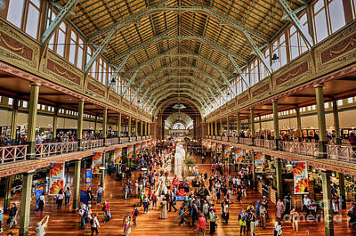 Photograph - Royal Exhibition Building IIi by Ray Warren